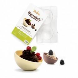 Moule à chocolat sphère, moule sphère, moule à chocolat, moule chocolat, moule chocolat demi-sphère, moule demi-sphère