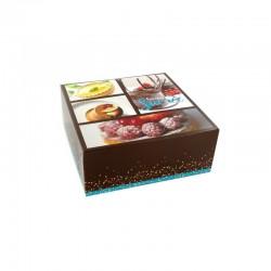 Boîte à gâteau - entremets, boîte pour gâteau, boîte de transport pour gâteau