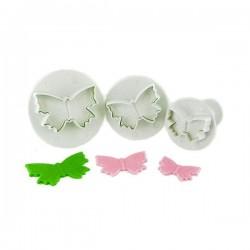 Emporte-pièce papillon avec éjecteur, emporte-pièce papillpons, forme papillons , set emporte-pièces papillons, emporte-pièces p