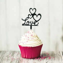 Mini Cake Topper Love