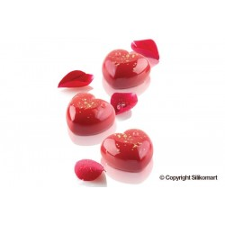 "Moule en silicone ""Cupidon"", moule forme de coeur,mnoule silicone forme de coeur, pâtisserie forme de coeur, set moule silicone"