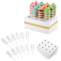 Push Up Cake Pops pk/12 avec présentoir