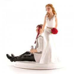 Figurine Marriage en résine - Eméchés