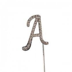 Lettre diamantée 'A' - 45mm