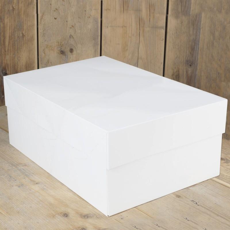 Boîte à gâteau - 30 x 40cm, boîte pour gâteau, boîte gâteau carton, boîte de transport pour gâteau