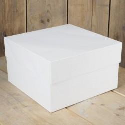 Boîte à gâteau - 40 x 40cm, boîte pour gâteau, boîte gâteau carton, boîte de transport pour gâteau