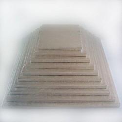 Plateau carré 27.5 cm - 12 mm,plateau carré, plateau à gâteau carré, plateau à gâteau épais, plateau carré épais