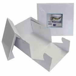 Boîte à gâteau - 45 x 45 cm, boîte à gâteau, boîte de transport pour gâteau, boîte carrée gâteau