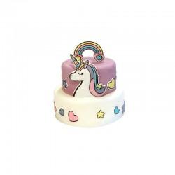 Stickers comestibles Licorne, décorations gâteau licorne, stickers licornes, gâteau licorne, licorne, décorations licorne