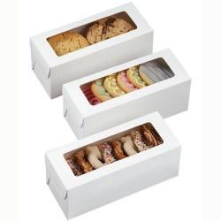 Petites boîtes rectangulaires, boîte rectangulaire, boîte à biscuits rectangulaires, boîtes à macarons rectangulaires, set de bo