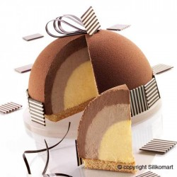 Dôme trois chocolat