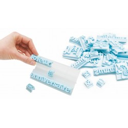 tampons message, kit sweet message, kit message, tampons lettres, tampons licorne, tampon cerf, message en un tour de main