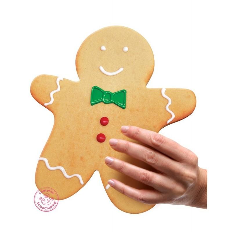 """Cadre """"Ginger"""" XXL, cadre bonhomme pain d'épice, cadre pain d'épice, moule bonhomme pain d'épice, moule pain d'épices, moule pet"""