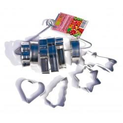 découpoirs de Noël, emporte-pièces de noël, kit emporte-pièces de noël, emporte-piècex étpiles, emporte-pièce sapin, emporte-piè