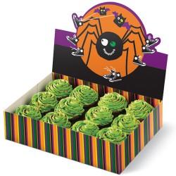"""Boîte Présentoir à Cupcakes """"Spooky Pop"""" - ACTION"""