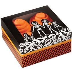 """Boîte à Cupcakes """"Cimetière"""" Pk/3"""