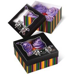 "Boîte à Cupcakes ""Spooky Pop"" PK/3"