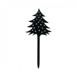 "Cake Topper ""Sapin"", décoration gâteau sapin, décoration pour bûceh sapin, décoration gâteau plastique sapin , décoration gâteau"