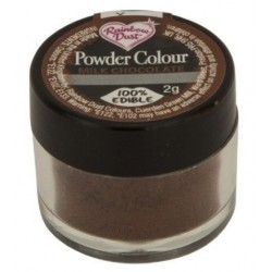 boite Poudre colorante Chocolat lait brun