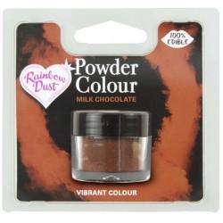 pack Poudre colorante Chocolat lait brun