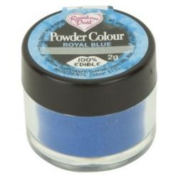 boite colorant royal blue bleu roi