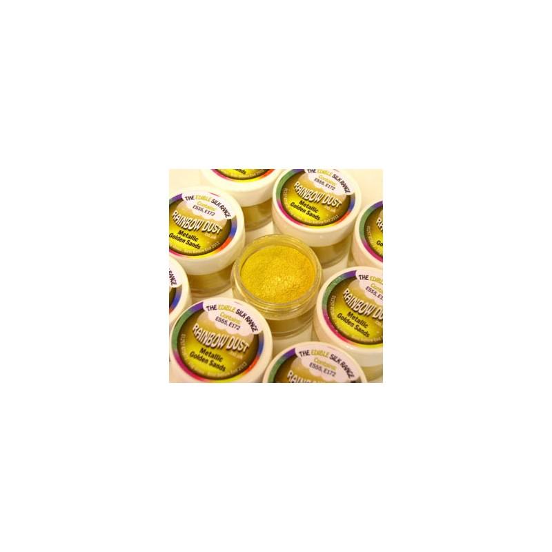 Edible Silk - Metallic Golden Sands - 3 g