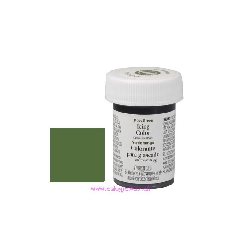 "Gel Colorant ""Moss Green"""