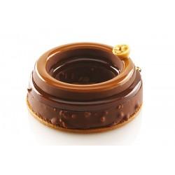 """Moule en silicone """"The Ring 65"""", moule cercle, moule forme de roue, moule couronne, moule forme de couronne, moule en silicone c"""