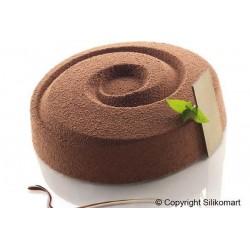Spray Velours brun, spray brun pâtisserie, spray velour, spray entremet chic, pâtisserie velour