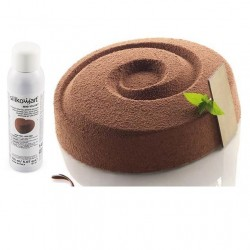 Spray velours velvet marron