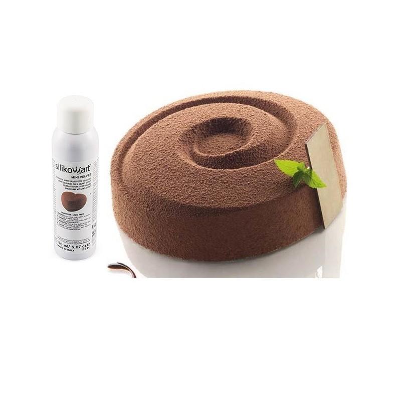 Spray velours velvet marron