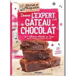 """Livre """"Devenez l'expert du gâteau au chocolat"""""""