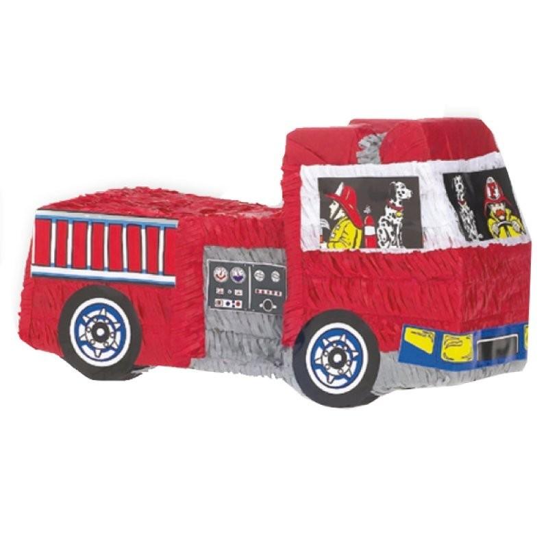 """Pinata """"Pompier"""", anniversaire pompier,"""