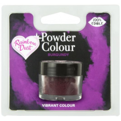 boite poudre colorante burgundy bordeaux