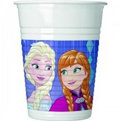 """Gobelets plastique """"Reine des Neiges"""", anniversaire reine des neiges, anniversaire frozen, gobelet frozen"""