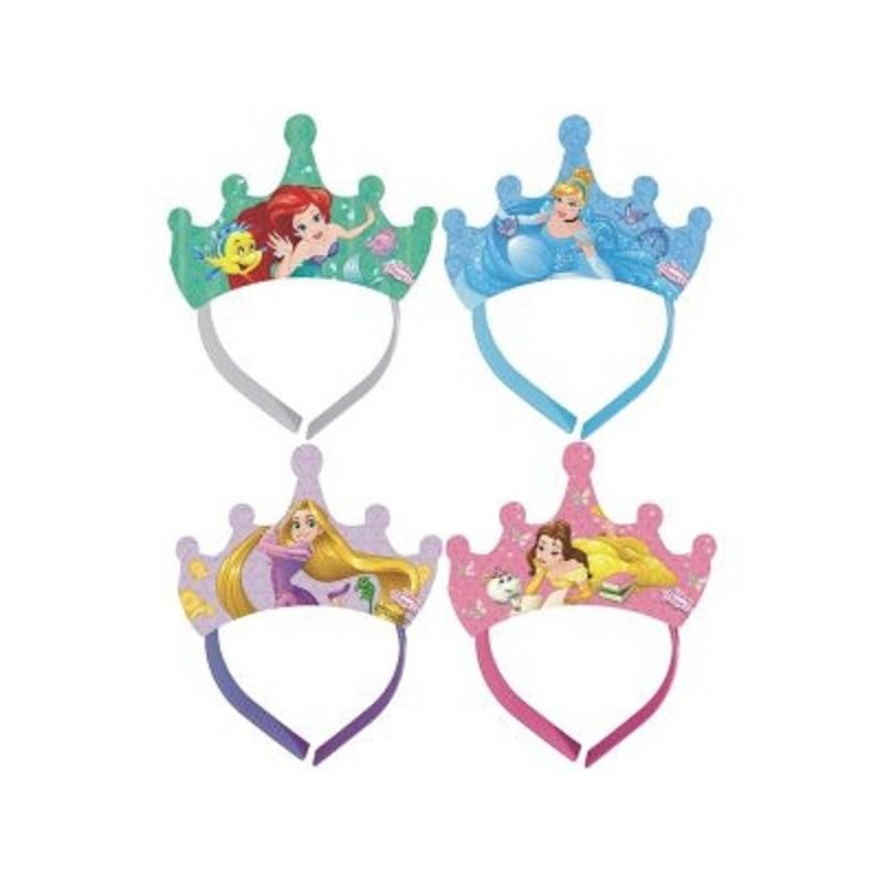 """Diadèmes """"Princesse"""", anniversaire princesses, accessoirs princesses, diadème jeu princesse"""