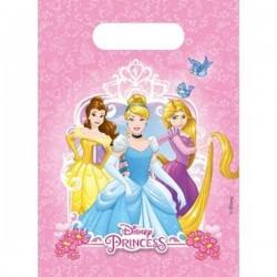 """Sachets fête """"Princesse"""", sachet bonbons princesses, anniversaire princesse, sachet plastique pour bonbon, sachet plastique prin"""