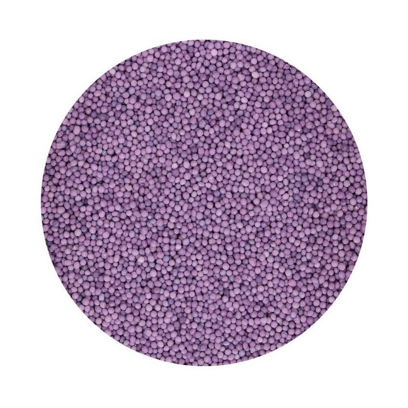 """Nonpareils """"purple"""" mini perles violettes"""