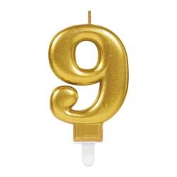 goldene kerzenummer 9