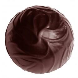 """Moule à chocolats """"Truffes"""", moule pour truffes, truffes parfaites, moule rond chocolat"""