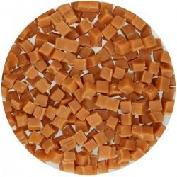 Pépites de caramel, cube de caramel, décartion en caramel, décoration gâteau