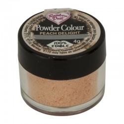"""Poudre colorante """"Peach Delight"""", colorant alimentaire pèche, colorant poudre, colorant couleur pastel pèche"""