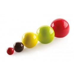"Moule en silicone ""Truffles 5"", moule boule, moule silicone boule, bille en pâtisserie, moule en silicone forme bille, moule for"