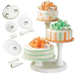 Présentoir à gâteau à 3 étages