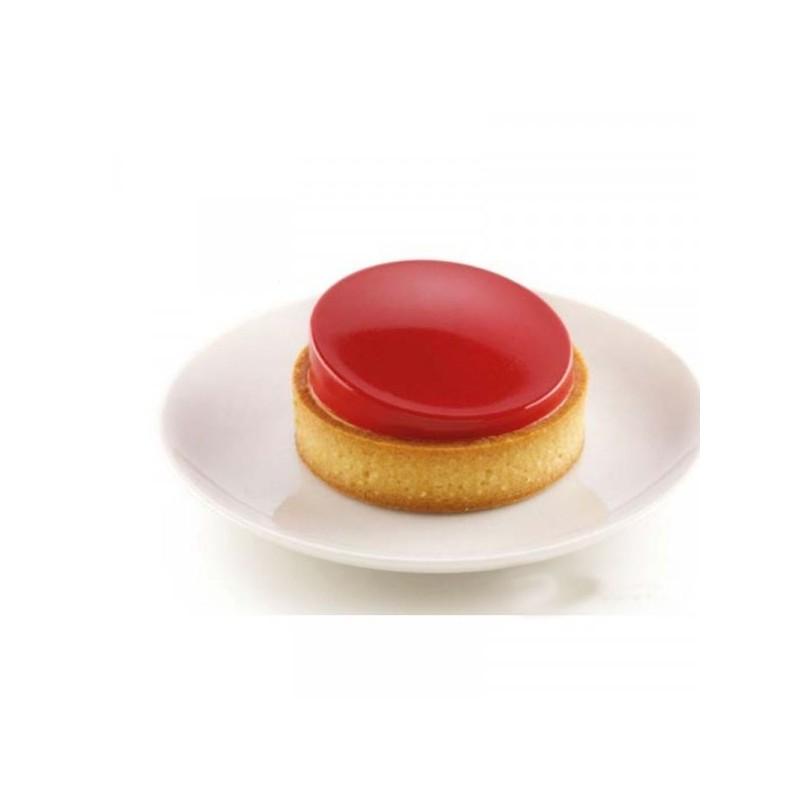 "Kit mini tarte ""Glam"", moule et insert à tartelettes, moule silicone et einsert tartellettes chic,"