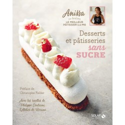"""Livre """"Desserts et pâtisseries sans sucre"""""""