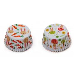 """Caissettes """"lapins"""", caissettes lapins cupcake, mini caissettes lapins, mini caissette cupcake lapins"""