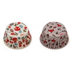 """Caissettes """"Renard"""", caissettes renard cupcake, mini caissettes renard, mini caissette cupcake renard"""