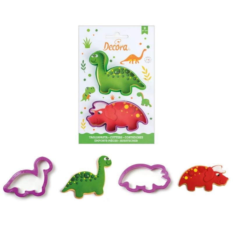 """Emporte-pièces """"Dinosaures"""", lot emporte-pièces dino, emporte-pièce dino, emporte-pièces annimaux, forme dino, forme dinosaures"""