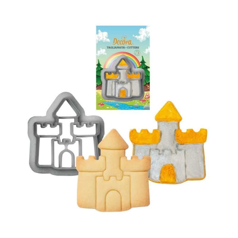 """Emporte-pièce """"Château"""", forme château, biscuits château, emporte-pièce château fort, emporte-pièce thème chevalier, emporte-piè"""